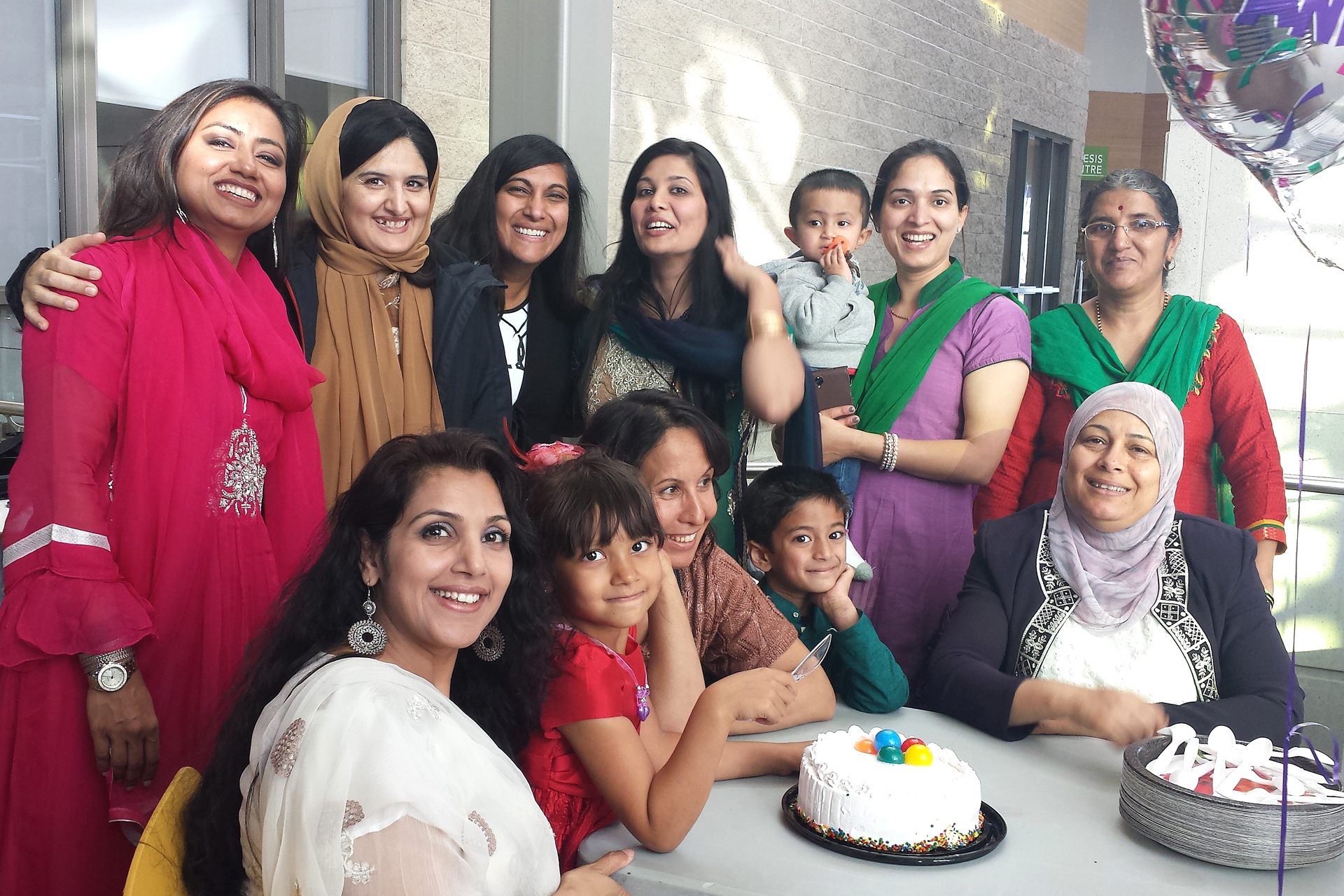 The Women Support Group Calgary celebrated its first year in October.