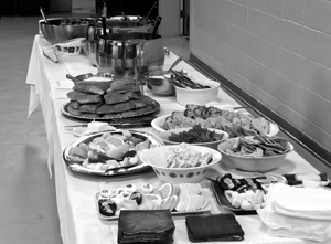 HUC's Lunch Ministry Food 300