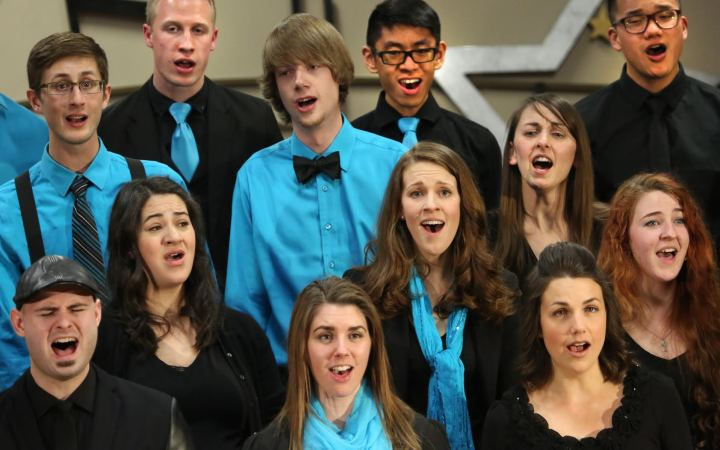 Members of a unique Calgary-based choral group produce awareness concerts and also perform at various fundraisers, churches and schools.